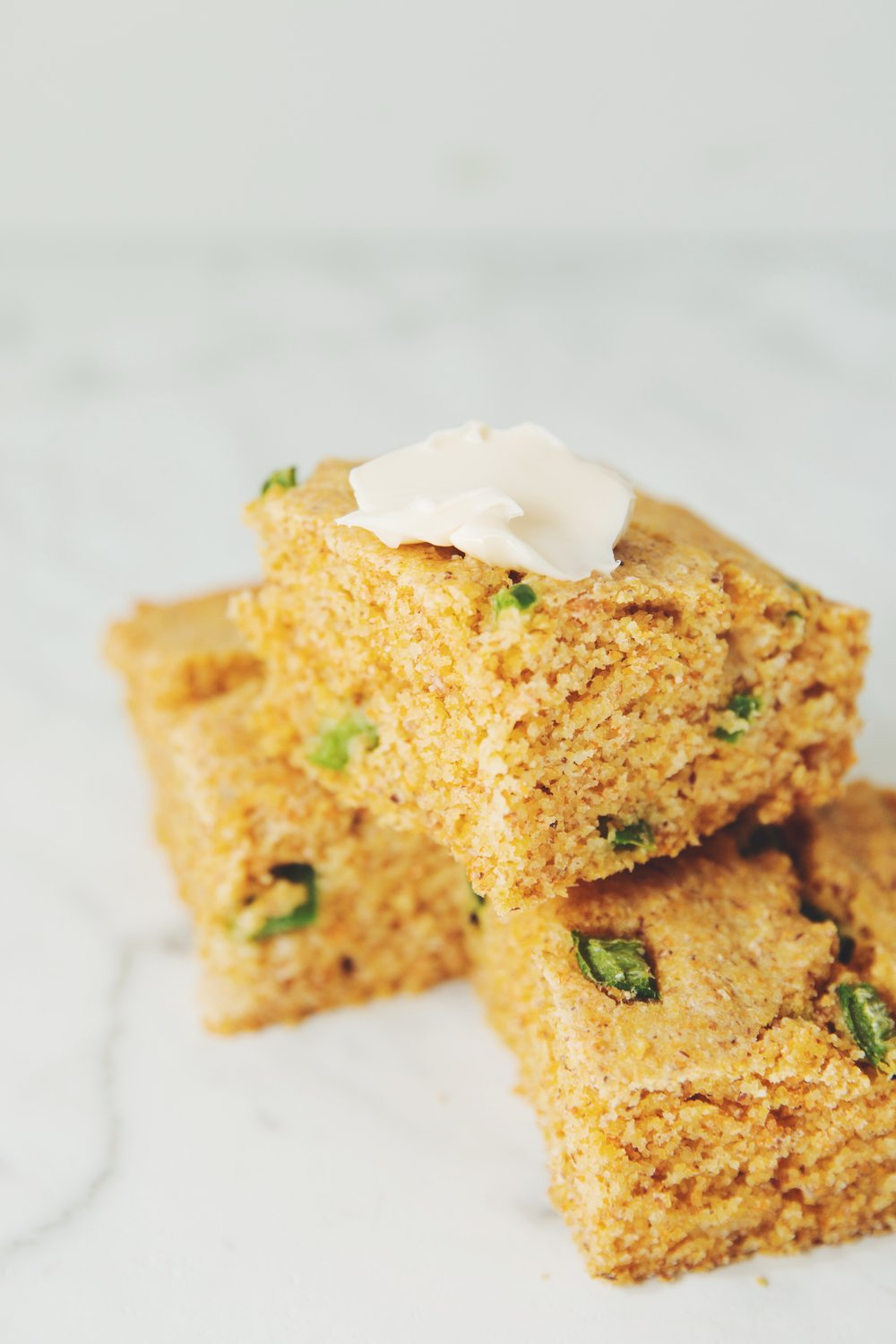 vegan jalapeño cornbread | RECIPE on hotforfoodblog.com