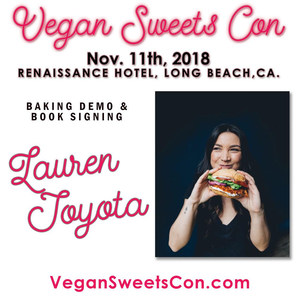 lauren toyota vegan sweets con.jpg