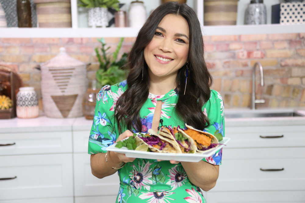 Lauren Toyota of hot for food on The Marilyn Denis Show