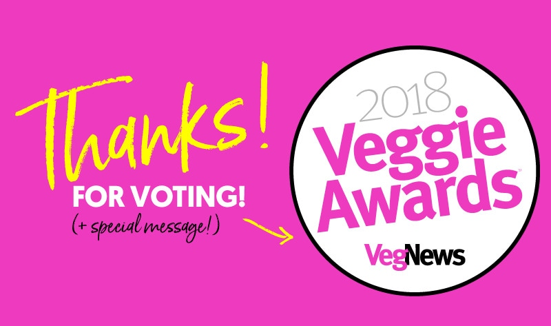VegNewsVeggieAwards2018 | hot for food