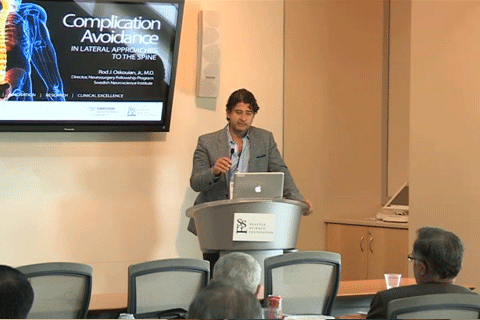 Complication Avoidance in Lateral Approaches to the Spine Rod J. Oskouian, M.D.