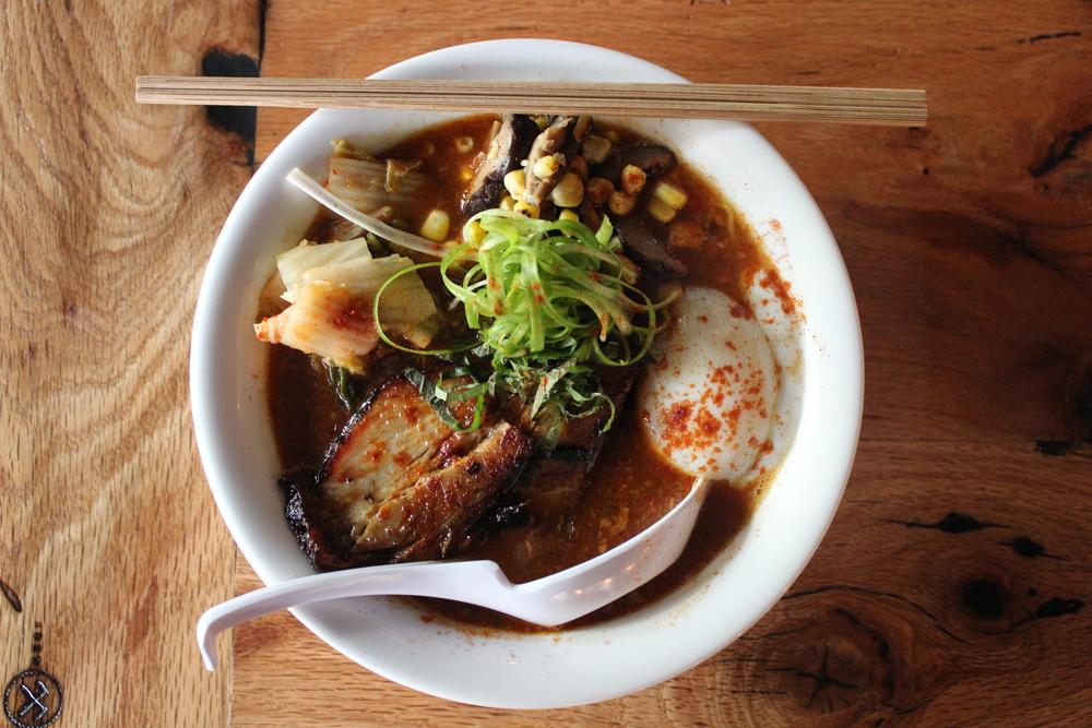 RAYMUN, roasted pork, sun noodles, poached garlic, kimchi, overnight pork broth 4.JPG