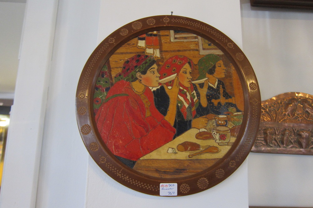 Russian plaque 1. SOLD.
