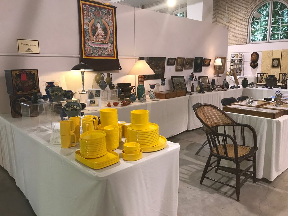 Thanks to everyone who braved the 93 degree heat to visit our booth at the Minnesota Antiques Dealers Association (MADA) Antiques and Decorative Arts Show on Saturday. The current forecast is for moderating temperatures on Sunday. The MADA show hours on Sunday, June 11th, 2017, are 11 AM to 4 PM. The location for the show is the Fine Arts Building, Minnesota State Fair Grounds, 1442 Cosgrove Street, St. Paul, MN 55108.