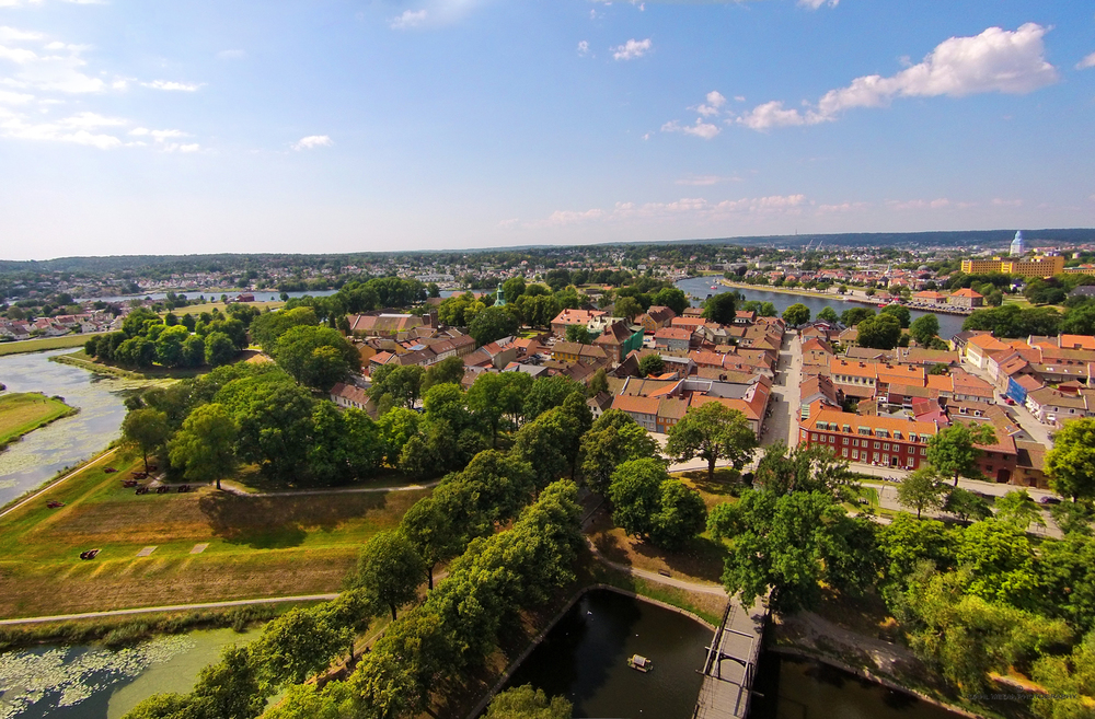 The Best Preserved     FORTIFIED TOWN    IN    NORTHERN EUROPE