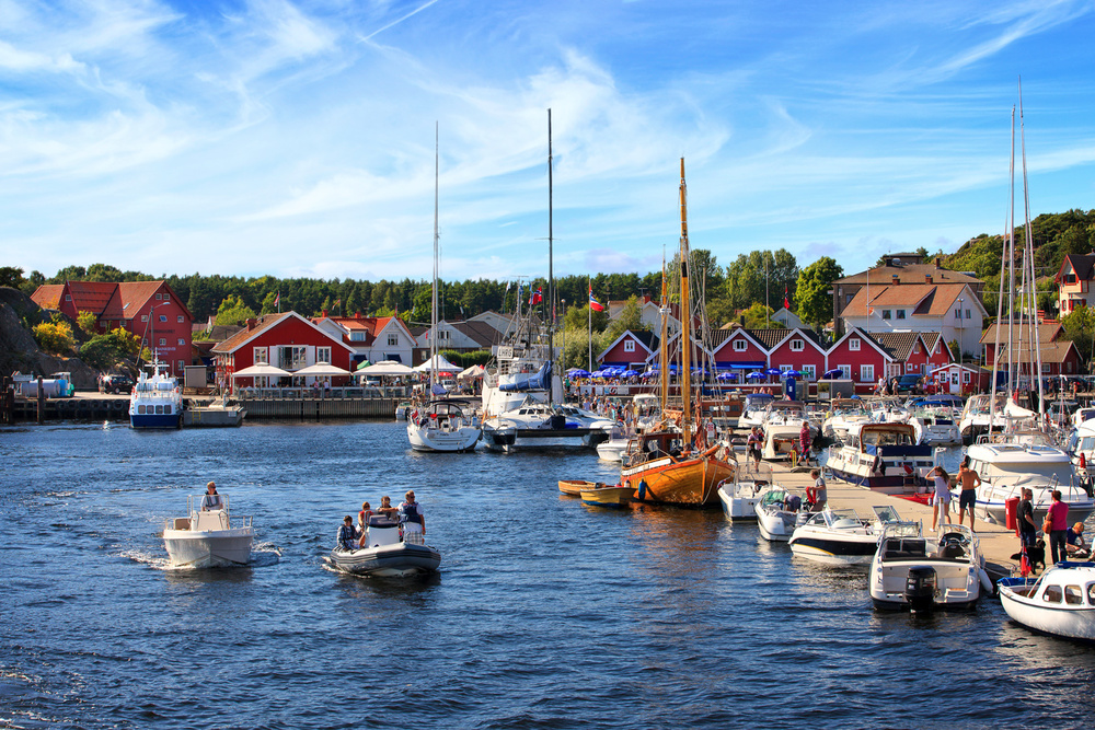 "Skjærhalden - the ""capital"" of Hvaler"