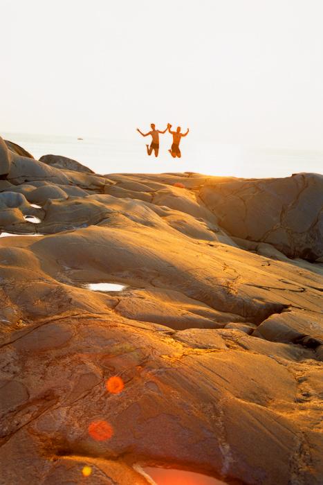 Svaberg og sol Hvaler