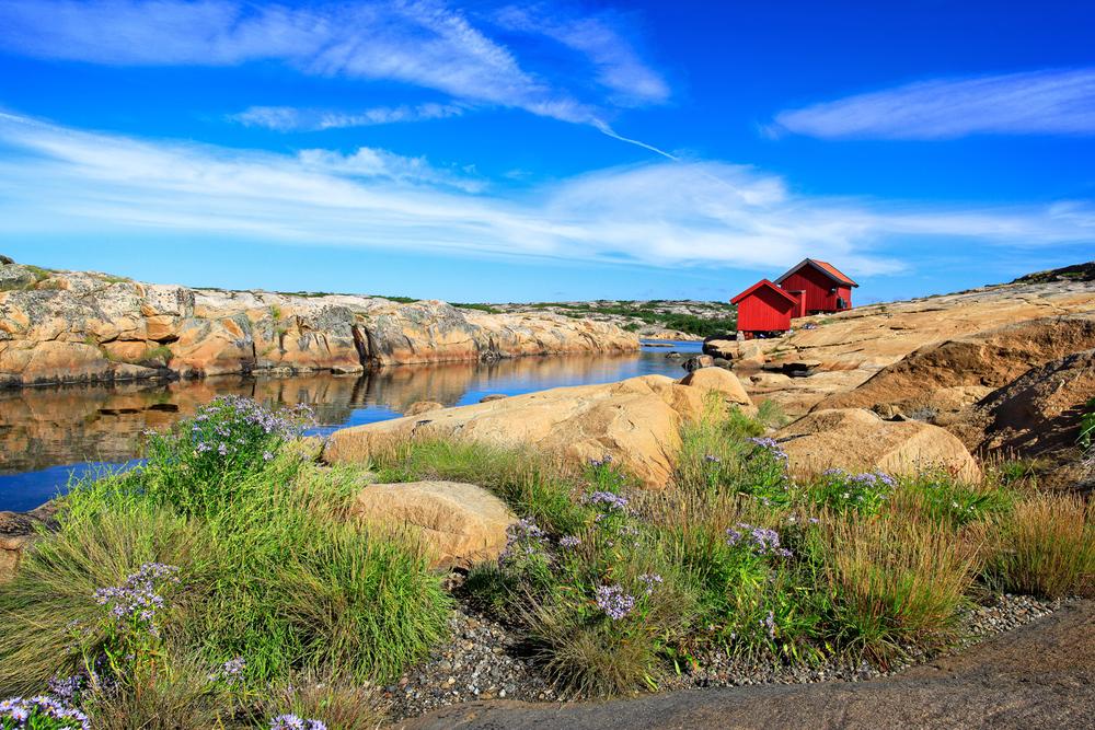 Pølsesundet, Ytre Hvaler Nasjonalpark.