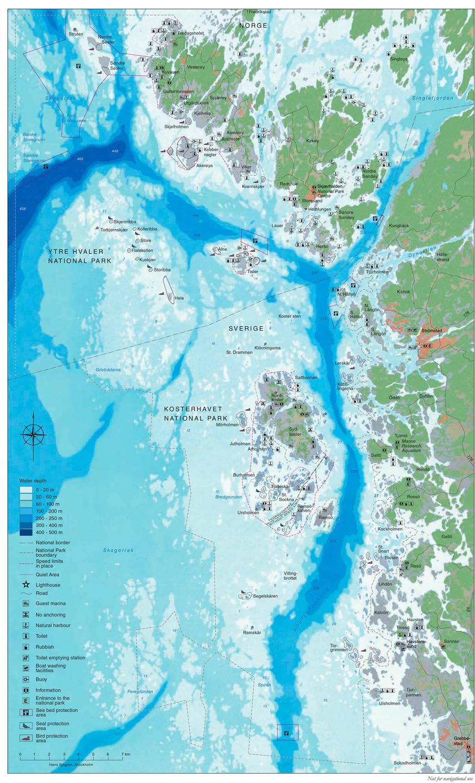 Map Kart Kosterhavet