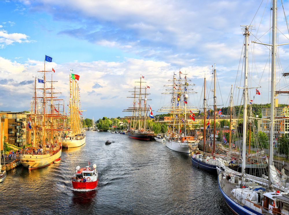 Fredrikstad has rich seafaring traditions through several hundred years.