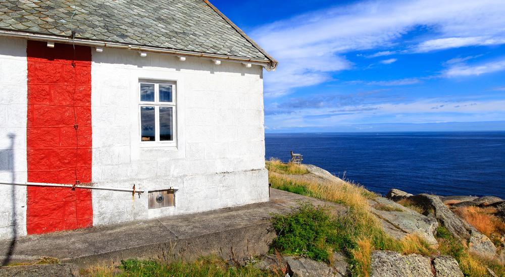 Stavern Island's highest point