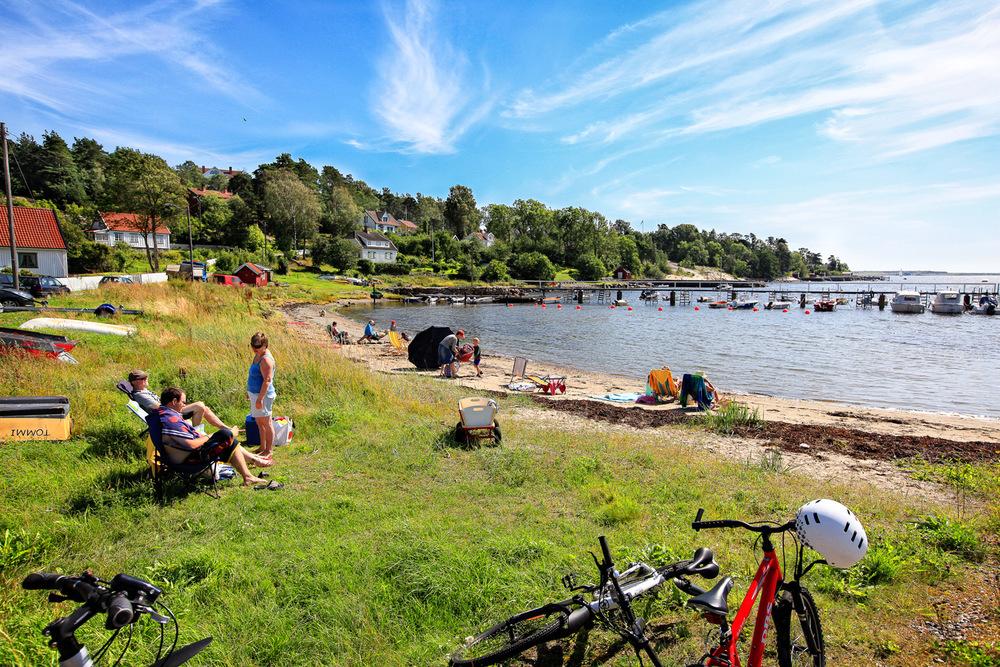 Billmannsbakken Beach