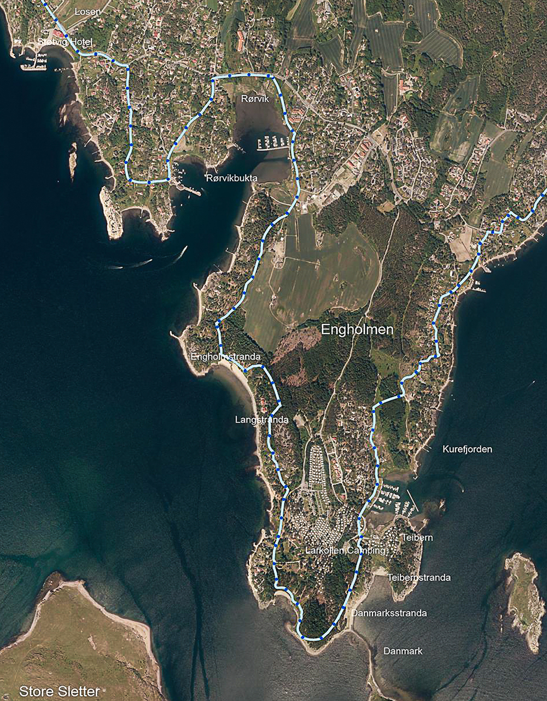 Larkollen Coastal Track