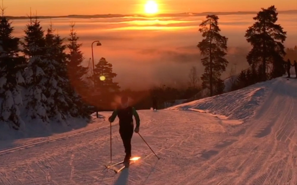 There are more than 2,600 km of cross-country ski trails around Oslo. Photo by Mari Låtun