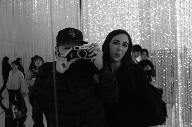 The best way @itsbriii_xo gets me in a photo is if I'm hiding behind the camera. Thanks for always being weird with me around the world. . . . . . . . . . #tokyo #vsco #vscocam #bw #japan #reflection #fujifilm #fuji #fujix100f #rangefinder