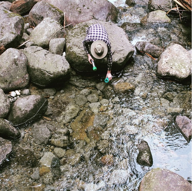 @THEGRAYL Hit the Trail, Taste the River! with the Quest Trail Water Filter. Filter bacteria, protozoan cysts, heavy metals and chemicals in 15 seconds. As seen in the Mt. Baker-Snoqualmie NationalForest #trail #hike #hiking #pacnw #waterfilter #showusyourgrayl