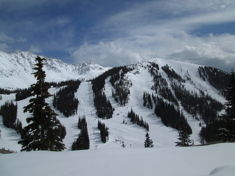 Arapahoe Basin on April 21, 2015.