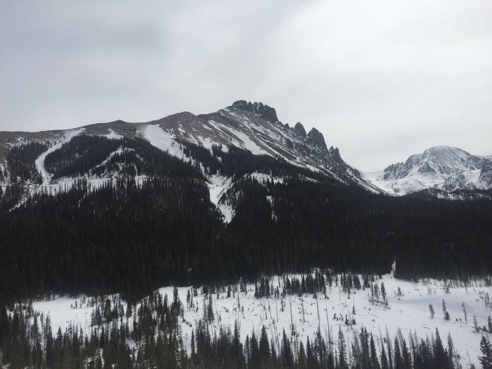 Near Cameron Pass