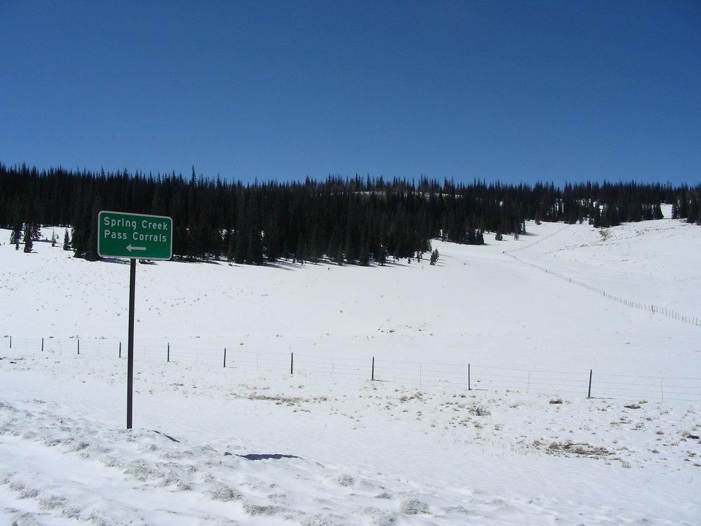 Spring Creek Pass