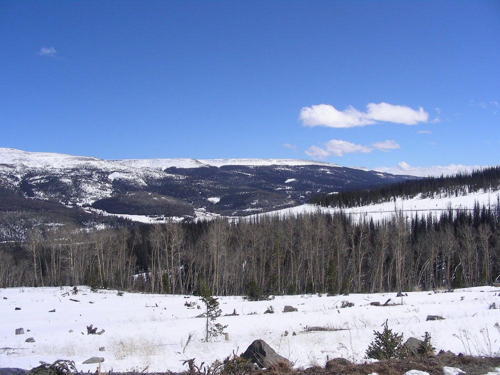 Near Spring Creek Pass