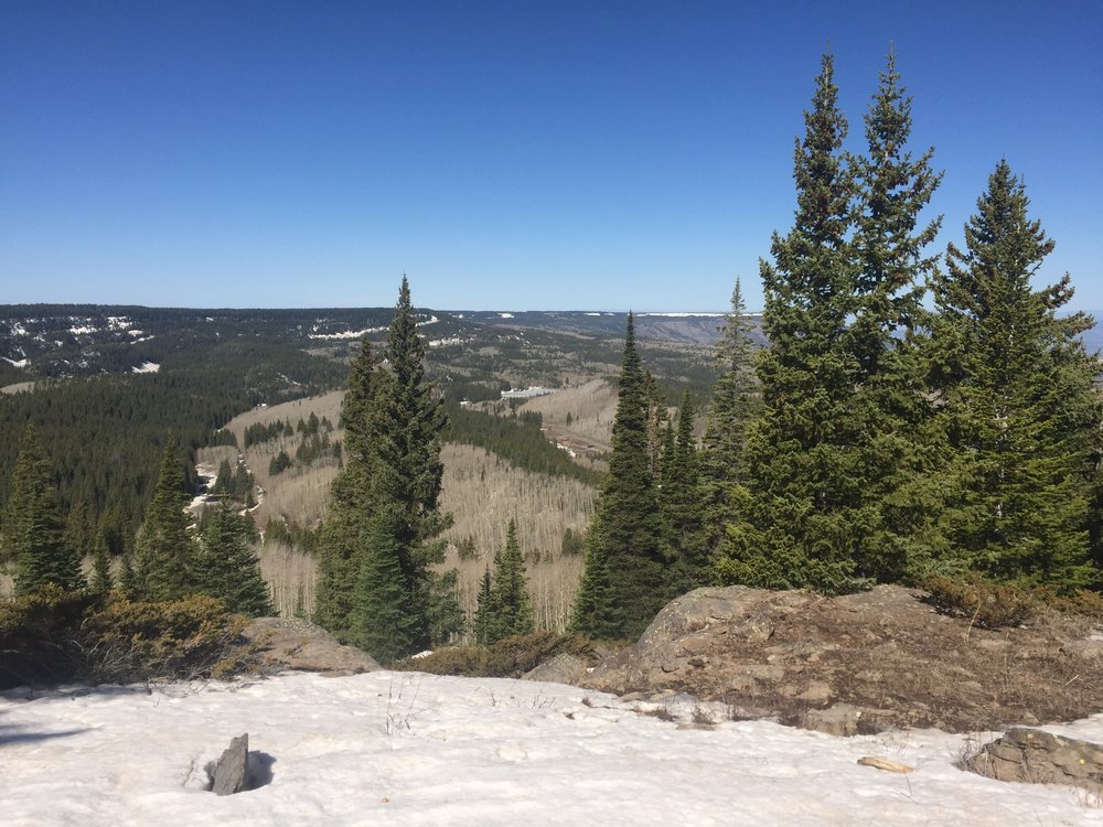 Look out over Grand Mesa.