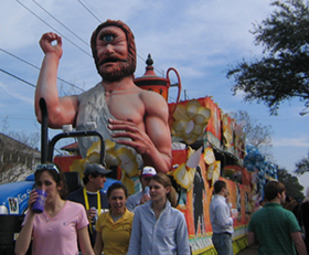 Image of Mardi Gras Float