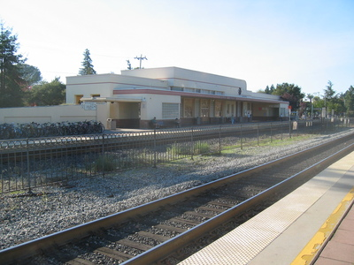 Image of Historic Train Station Palo Alto