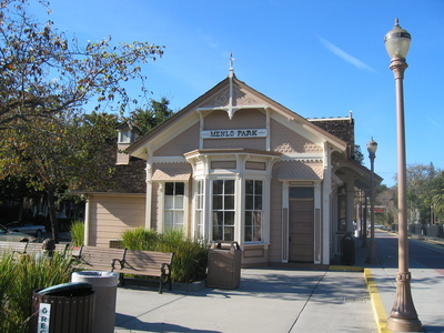 Image of Train Station Menlo Park