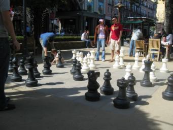Image of Santana Row Chess