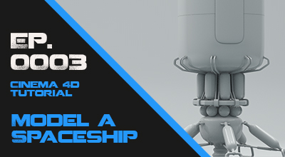 Model a Spaceship Lander Take this beginner course in Hard-Surface Modeling. Watch Course Now