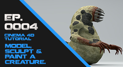 Model, Scuplt & Paint a Creature. Learn the workflow for creating a horror creature in Cinema 4D. Watch Course Now