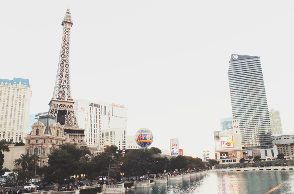 las vegas strip facing paris casino.JPG
