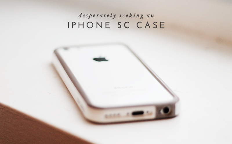 desperately seeking and iphone 5c case + 6 stylish options