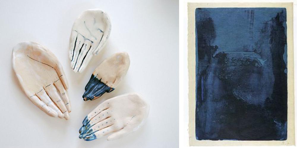 indigo dipped hands | couplings no. 4 via bekuh b.