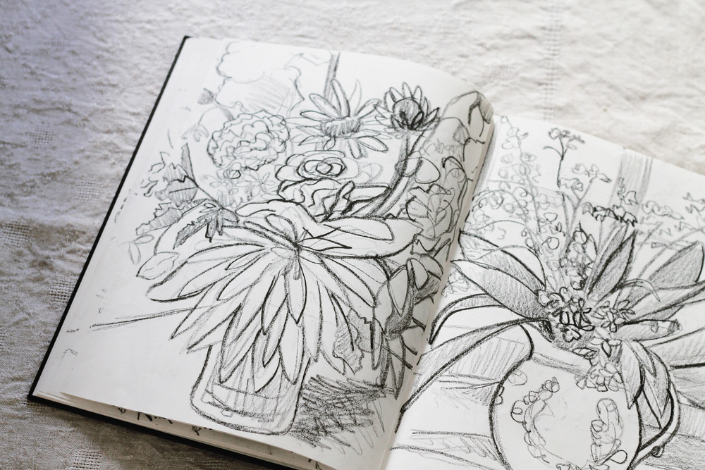 sketchbook in full bloom | via: bekuh b