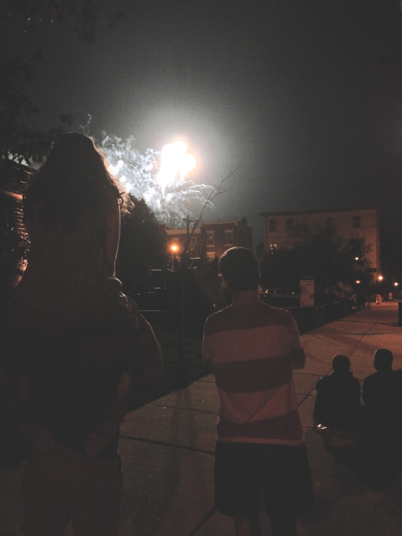 july 4th weekend in philly | via: bekuh b.
