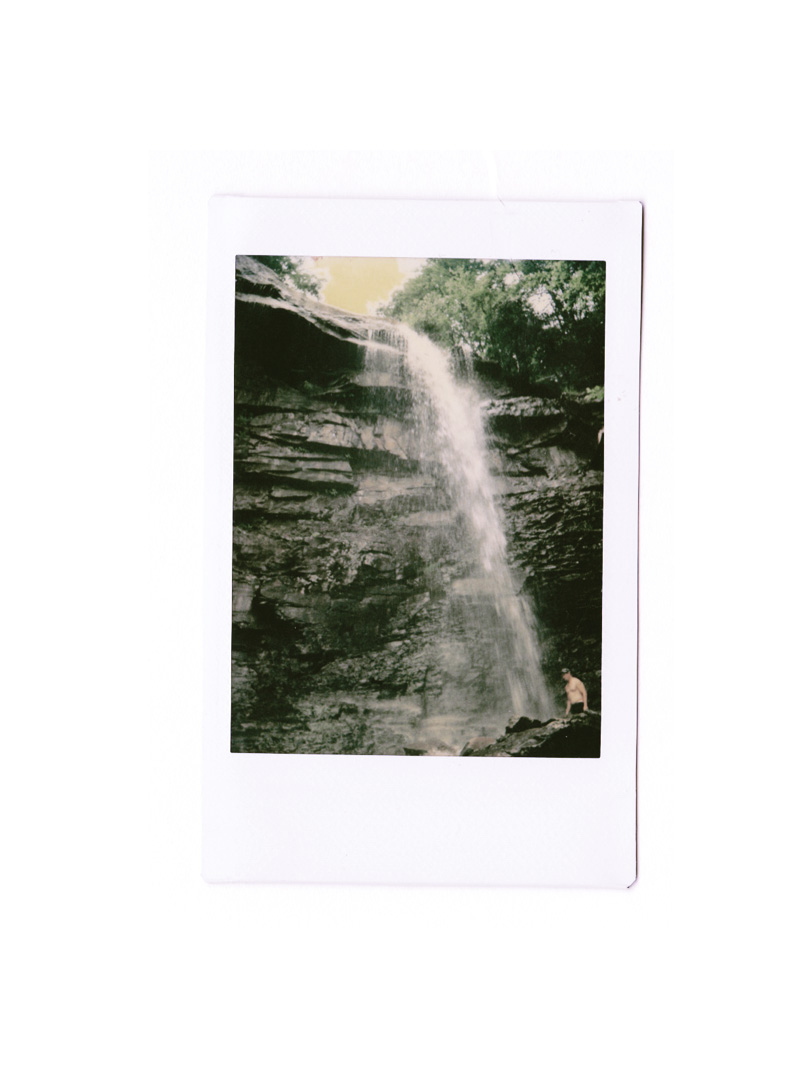 polaroid of glen onoco falls | via: bekuh b