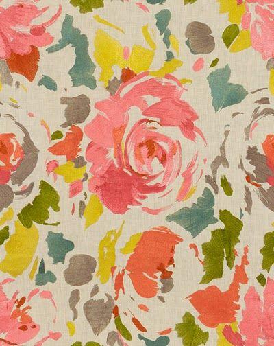 lee jofa floral print | via: bekuh b.