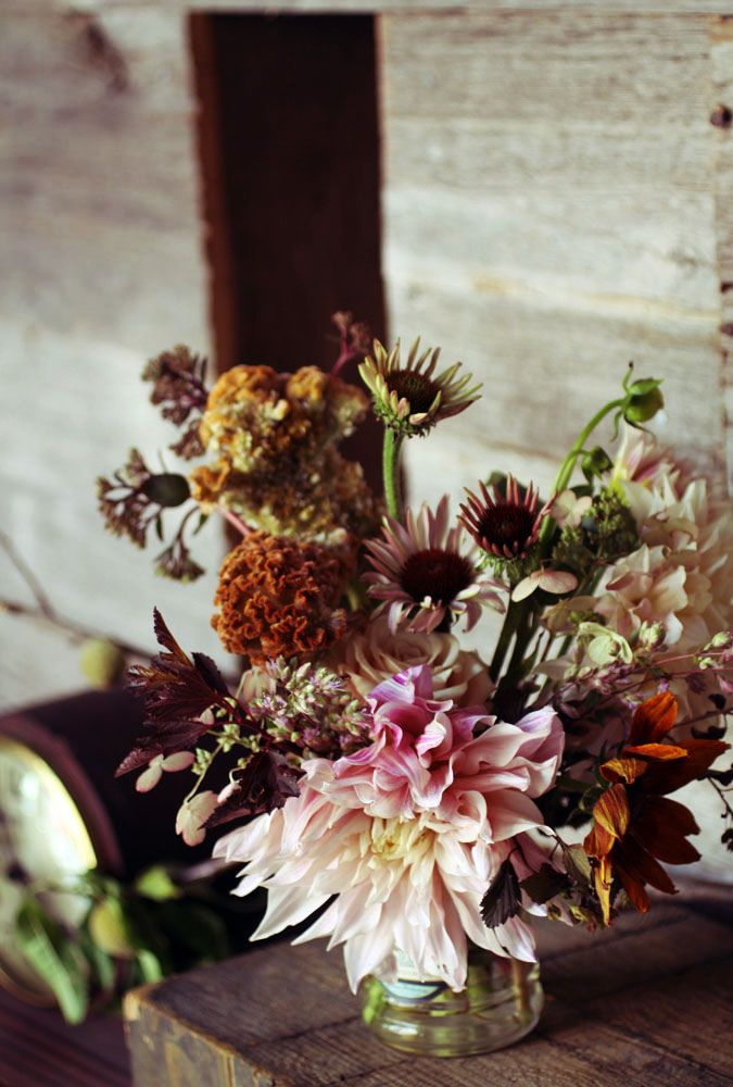 autumn inspired bouquet- sarah ryhanen | via: bekuh b.