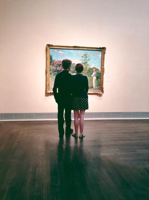 watching the art | via: bekuh b.