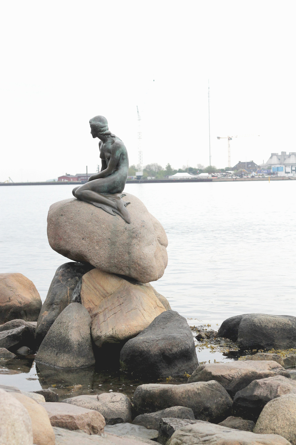 little mermaid, copenhagen | via: bekuh b.
