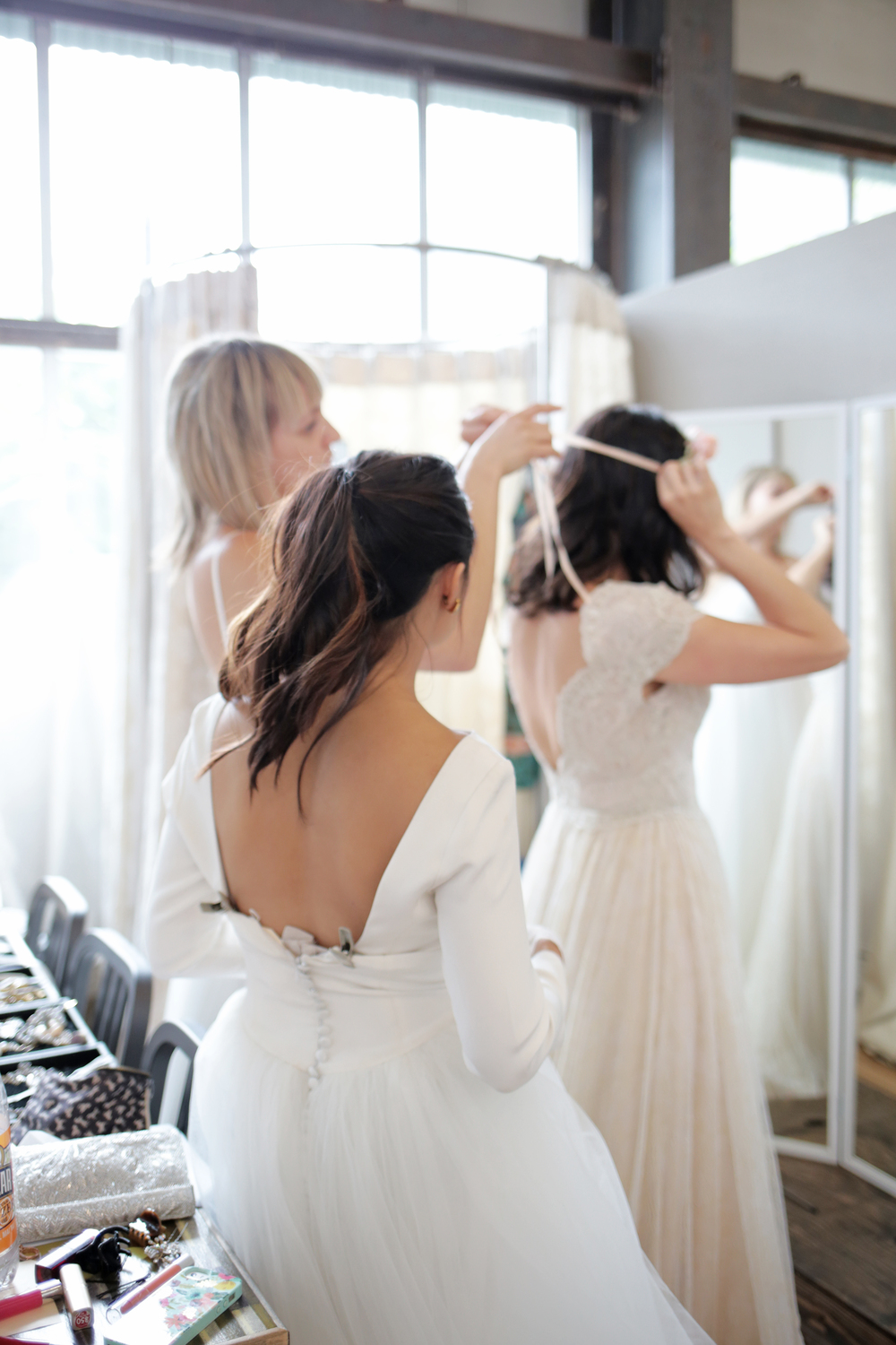 behind-the-scenes at BHLDN | image via: bekuh b.