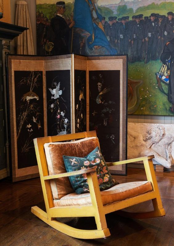 interior crush: karin + carl larsson studio | image via: chatham st. house
