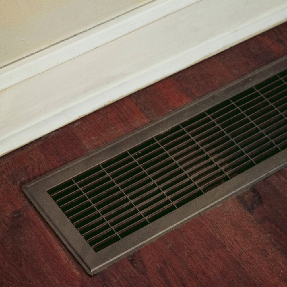 weekend projects pt. 2 | updating a heating grate | via: chatham st. house