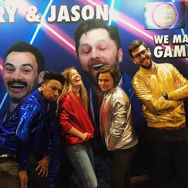 We almost look too good in these @barryandjason jackets. Almost. #puttyworld #tfny