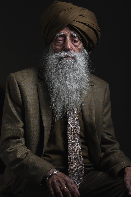 Fauja Singh Portrait
