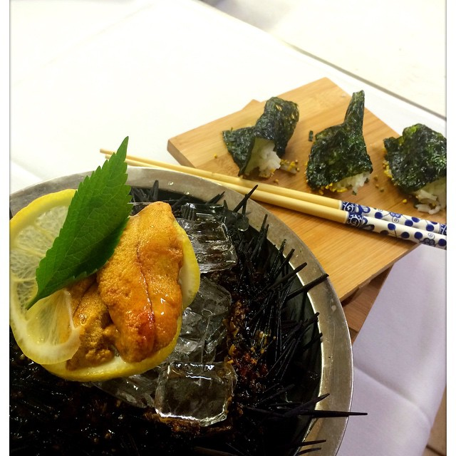 #special #goodness #tasty #uni #foiegras #tasting