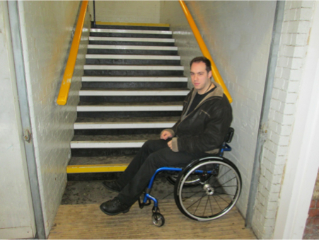 Thousands of disabled Londoners and visitors are excluded from parts of our capital