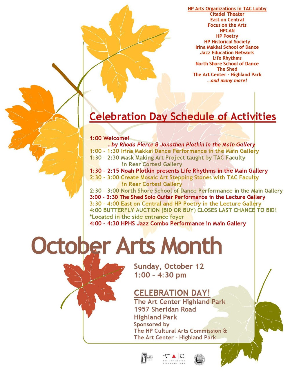 http://www.theartcenterhp.org/event/hp-arts-month-celebration-day