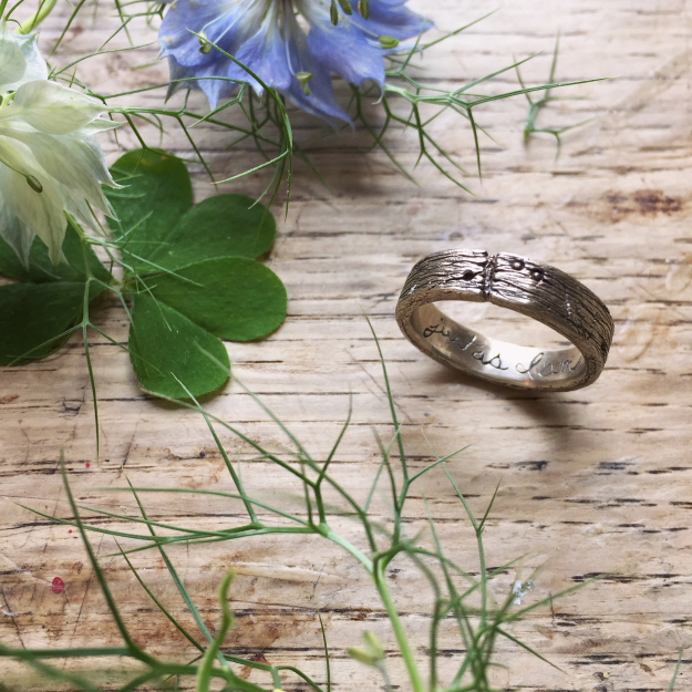 A handmade Life Band by Rhodes Wedding Co